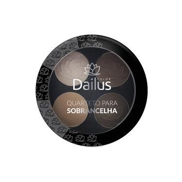 Dailus - Quarteto de Sombras 02 Universal Sobrancelha
