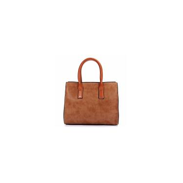 Imagem de Moda feminina retro polonês bolsa de couro