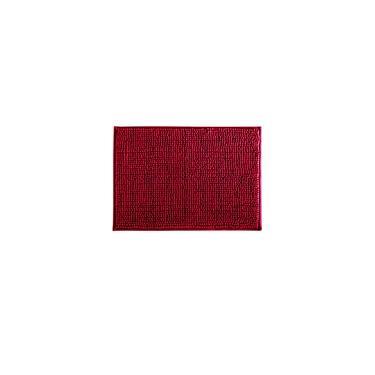 Imagem de Tapete para Banheiro Corttex Home Design Dallas Vermelho
