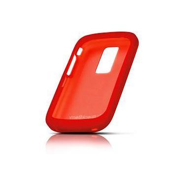 Capa de Silicone Vermelha p/ 9000 - Blackberry