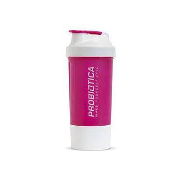 Coqueteleira Probiotica 2 Doses Rosa