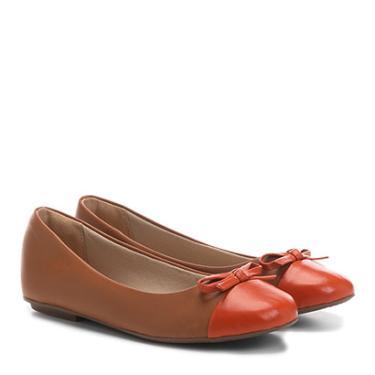 03809d8b07 Sapatilha Infantil Couro Shoestock Laço Feminina - Feminino