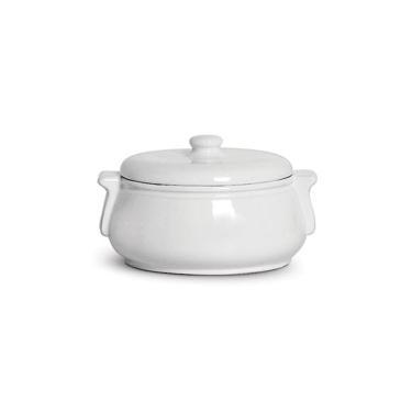 Sopeira redonda em porcelana Scalla Standard Branco 1,280ml