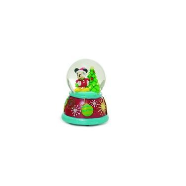 Globo De Neve Vidro Mickey Decoração Natal Colorido