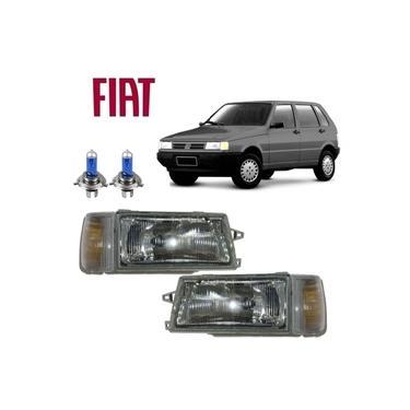 Par Farol e Lanterna Seta Fiat Uno 2000 Original Fortluz SB