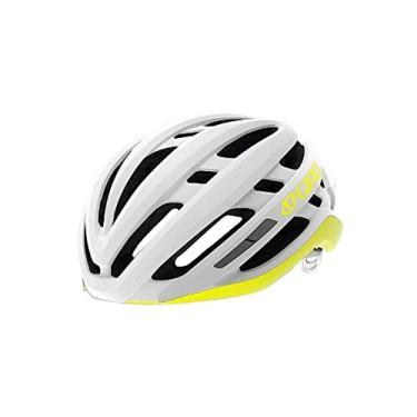 Capacete Ciclismo Bike Giro Agilis C/Mips Original Road Mtb Branco Amarelo P