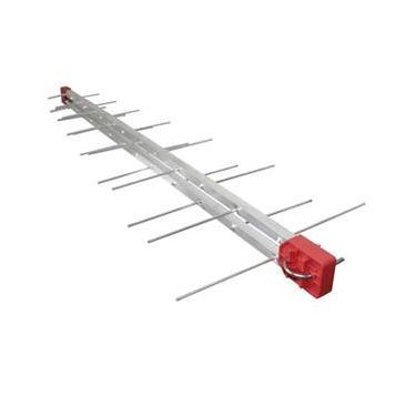 Antena Digital Externa Log 28 Elementos Com Cabo De 20 metros E Suporte para TV Universal Capte