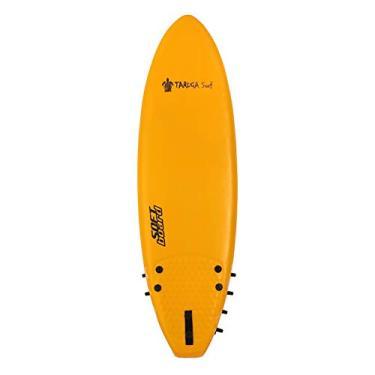 Prancha de surf Softboard Taruga Surf - Amarelo - 4.11