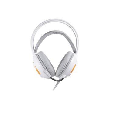 Imagem de Fone De Ouvido Gamer Com Microfone Oex Headset Kaster Branco