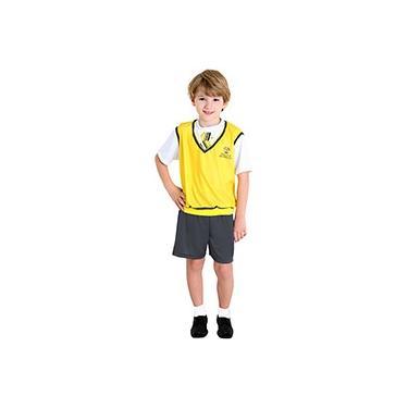 Imagem de Fantasia Infantil Carrossel Masculina Amarela - Sulamericana
