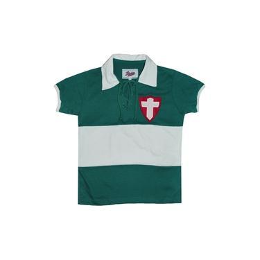 Camisa Liga Retrô Palmeiras (Palestra Italia) 1916 Infantil