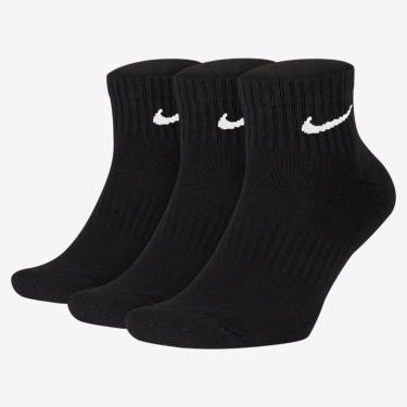 Meia Nike Everyday Cushion Quarter (3 pares)
