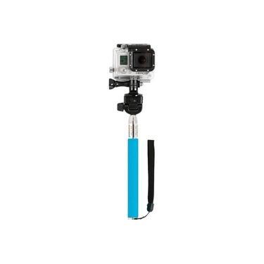 Monopod Driftin bastão com adaptador para GoPro e suporte smartphone Azul DGP-306BL