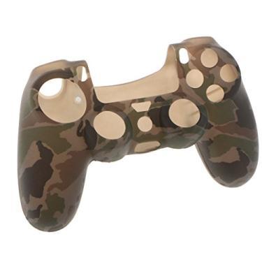 Capa protetora de pele gazechimp Camo para controle Sony PlayStation PS4