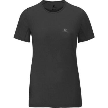 Camiseta Feminina Hybrid SS Tee Salomon Mulheres G