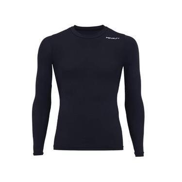 Blusa Esportiva Penalty Camiseta Isolamento térmico  f3bac8fb43fed
