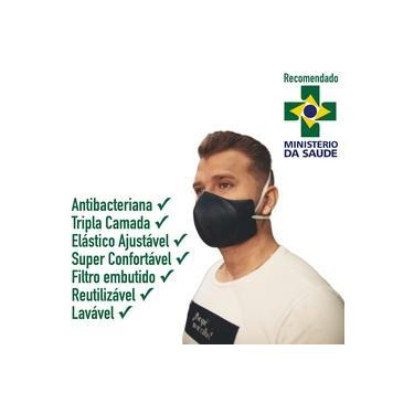 Mascara Tripla Proteção Similar N95 Pff2 Filtrante Lavável