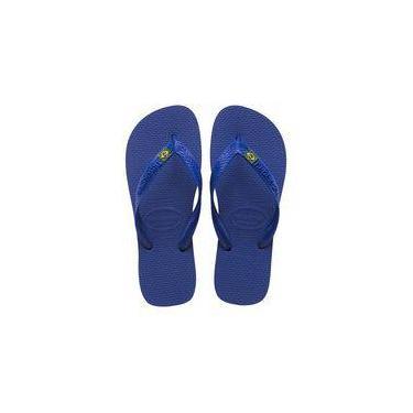 Sandalia Chinelo Brasil Havaianas - Azul Naval