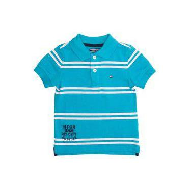 Camisa Polo Tommy Infantil Masculino Badge