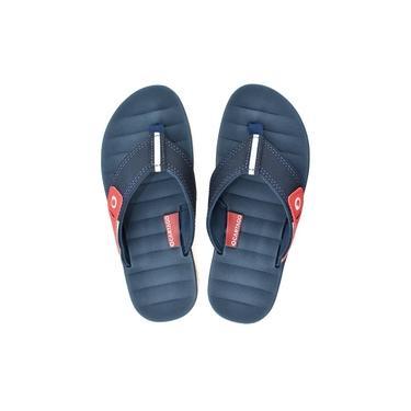 Chinelo Infantil Cartago Malaga 10995 Branco-azul-vermelho