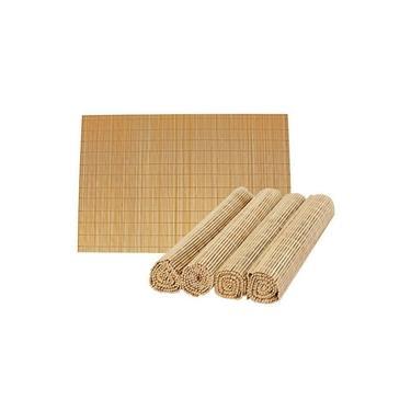 Imagem de Jogo 04 americano em bamboo 30 x 45 cm mimo