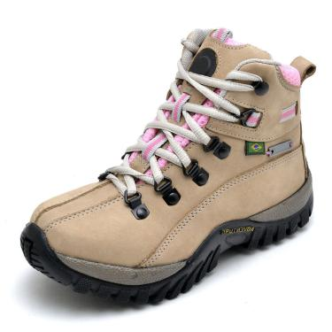 Bota DR Shoes Adventure Bege  feminino
