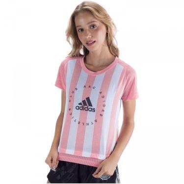 Camiseta adidas Slim Fit Graphic - Feminina adidas Feminino
