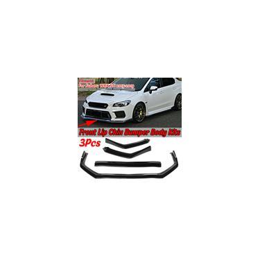 Novo carro pára-choques dianteiro splitter lip chin pára-choques difusor lip body kits capa guarnição proteção para subaru wrx sti 2015-2019