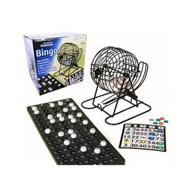 Imagem de Bingo Tradicional de Metal na Caixa - Western
