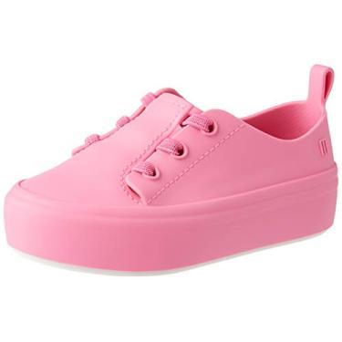 Mini Melissa Ulitsa Sneaker (Rosa/Branca)