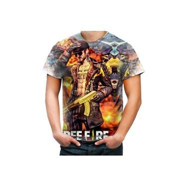 Camiseta Camisa Personalizada Game Jogo Online Free Fire 2