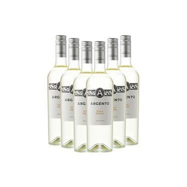 Kit 06 Vinhos Brancos Argento Pinot Grigio 750Ml