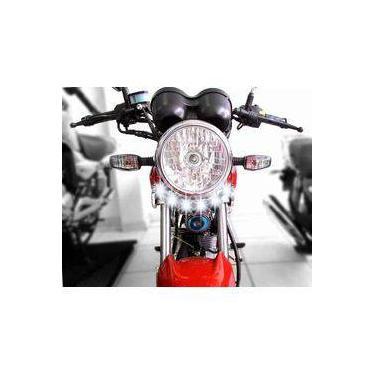 Farol Auxiliar Neblina Led 18w Moto Suzuki Gsr 125 150i Yes