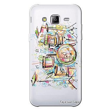 Capa Personalizada para Samsung Galaxy J3 2016 Bateria - TP05