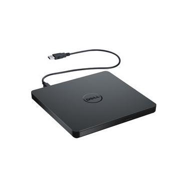 Gravador e leitor externo de DVD/CD Slim Dell DW316 - Preto