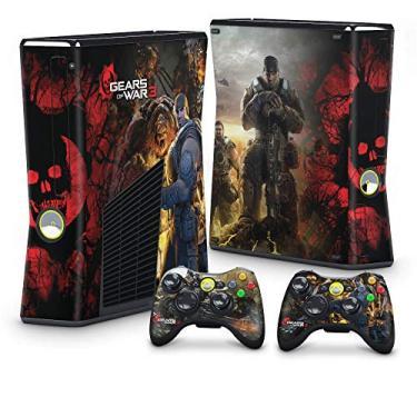 Skin Adesivo para Xbox 360 Slim - Gears Of War 3