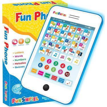 Imagem de Funshpiel Toddler Tablet - Almofada eletrônica para crianças para aprender ABCs e Números - Laptop de Brinquedo Educacional e Tablet de Aprendizagem infantil musical com Jogos de Matemática e Ortografia para a Idade 3+