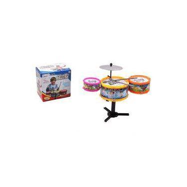 Mini Bateria Musical Infantil Jazz Drum