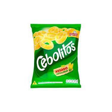 Salgadinho de Milho Elma Chips Cebolitos Clássicos 110g