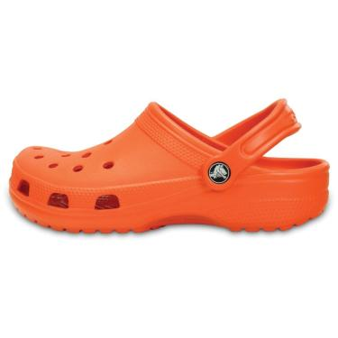 Sandália Crocs Classic Clog Laranja  masculino