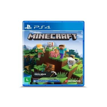 Game Minecraft Starter Collection - PS4 - legendado em português