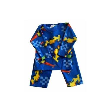 Pijama Infantil Soft Estampado Menino Formula 1 Azul