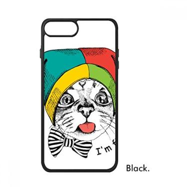 Capa Foolscap I'm Fine Cat Protect Animal para iPhone SE 2 novo para Apple 78