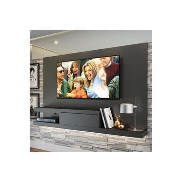 Painel para TV Até 50 Polegadas 1 Gaveta KD1601 GTX Grafite - Quiditá