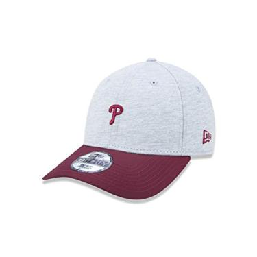 BONE 3930 PHILADELPHIA PHILLIES MLB ABA CURVA CINZA NEW ERA