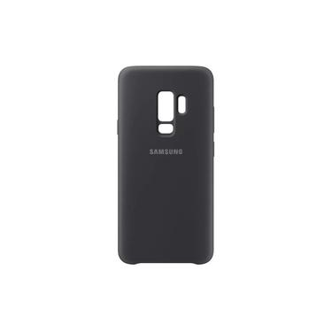 Capa Samsung Protetora Galaxy S9 Original Silicone Aveludada Preta
