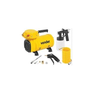 Compressor De Ar Direto 1/2 Cv 2,3 Pés 110/220v Com Kit Pintura - Vonder