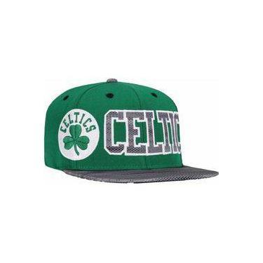 33a97e471451a Boné Aba Reta Nba Boston Celtics adidas - Snapback