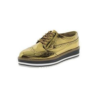 4f37d66350 Sapato Feminino Oxford Via Marte 174303