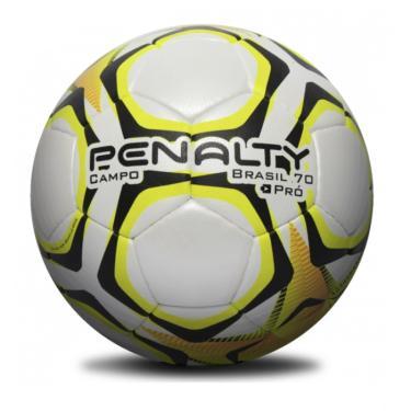 Bola Campo Penalty Brasil 70 Pró lX Amarela